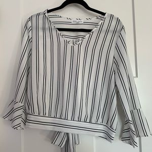 Tops - 3/$10 Striped Blouse
